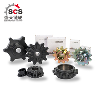 Non-standard roller chain sprocket with carburization