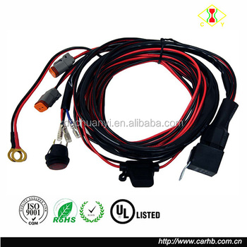 Deutsch Dt Dtp Connectors Relay Harness Wire Kit With Led Light On ...