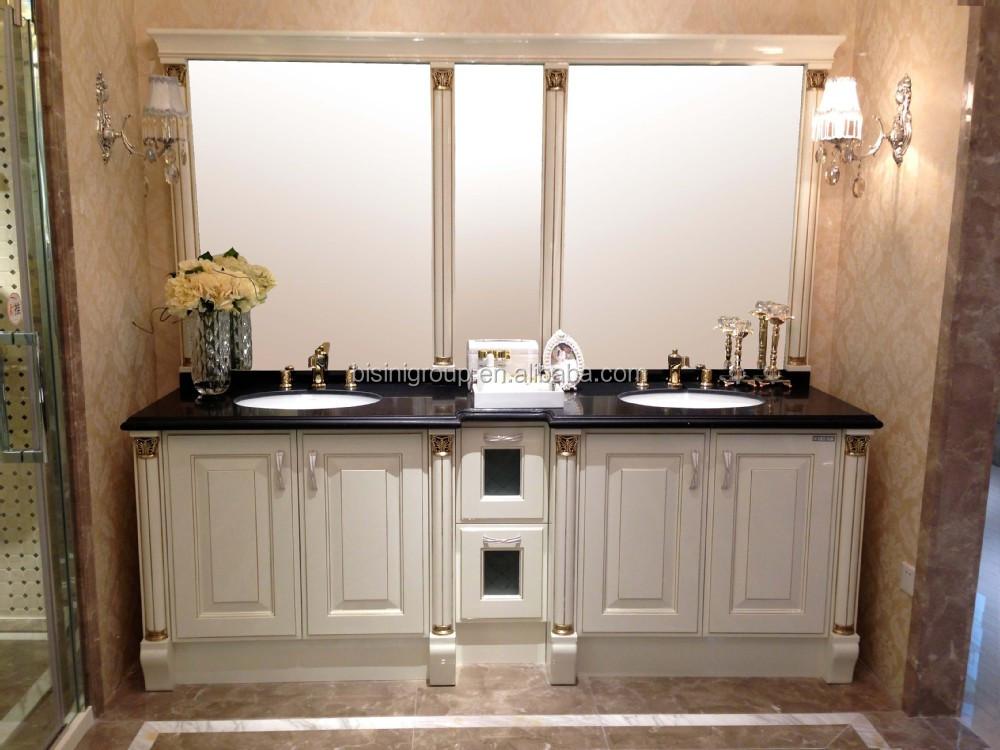 Badmöbel Klassisch europäischen design badezimmerschrank luxus klassische badmöbel