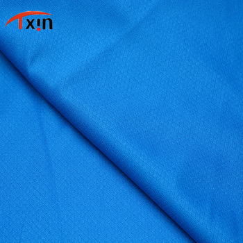 polyester knitted weft basketball lycra sportswear activewear fabric suppliers