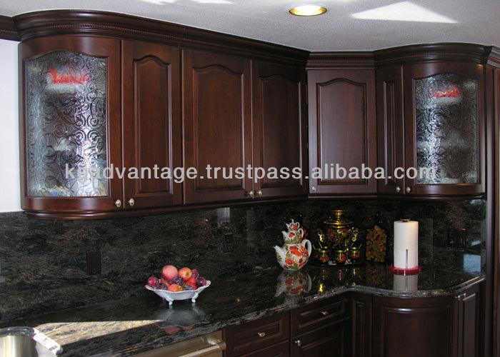 Cereza mueble cocina, estilo americano mueble cocina cocinas ...