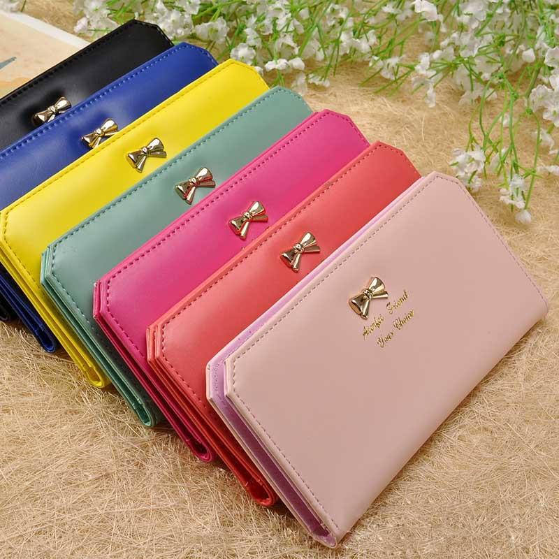 Ladies Womens PU Leather Zipper Coin Card Long Wallet Clutch Purse Bag 8 Colours