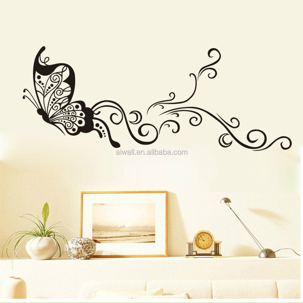 Wall stickers diy - 9315 Large Size Butterfly Wal Stickers Diy Home Decorations Wall Decals Living Room