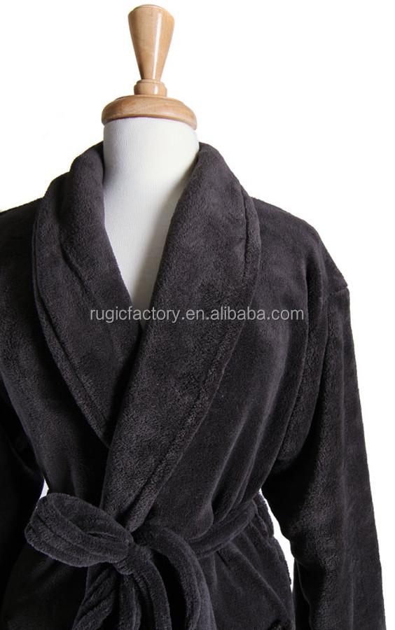 XXXL Ladies Warm Soft Fleece Hooded Dressing Gown Luxury Robe Wrap Sizes S