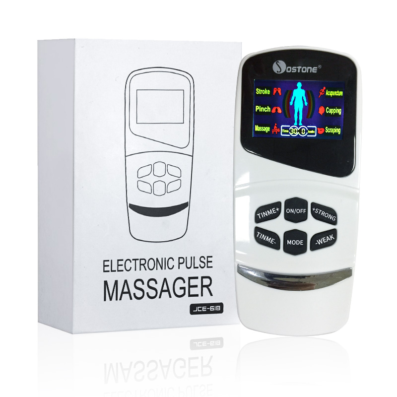TENS Electronic Muscle Stimulating Mini Pulse <strong>Massager</strong>