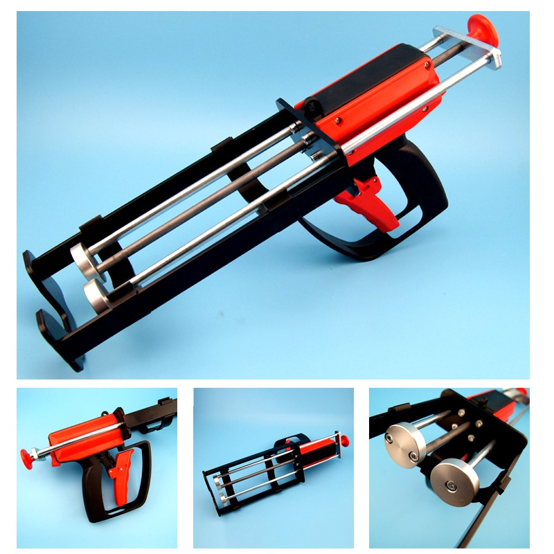 600ml 1:1 Manual Heavy-duty Adhesive Gun with Great Force
