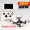 mini drone 2016 camera wifi rc mini nano drones pocket quad copter MT111WH mini tudou barometer height dron