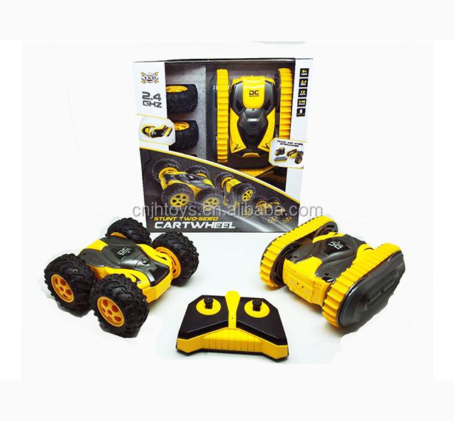 Shantou Factory Hot Sale Remote Control Bee Light Power Rc Stunt Car Electric Bee Tumble Stunt Car 1/8