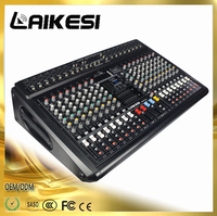 GMX1200D 16 channel power mixer pro with 2 group professional