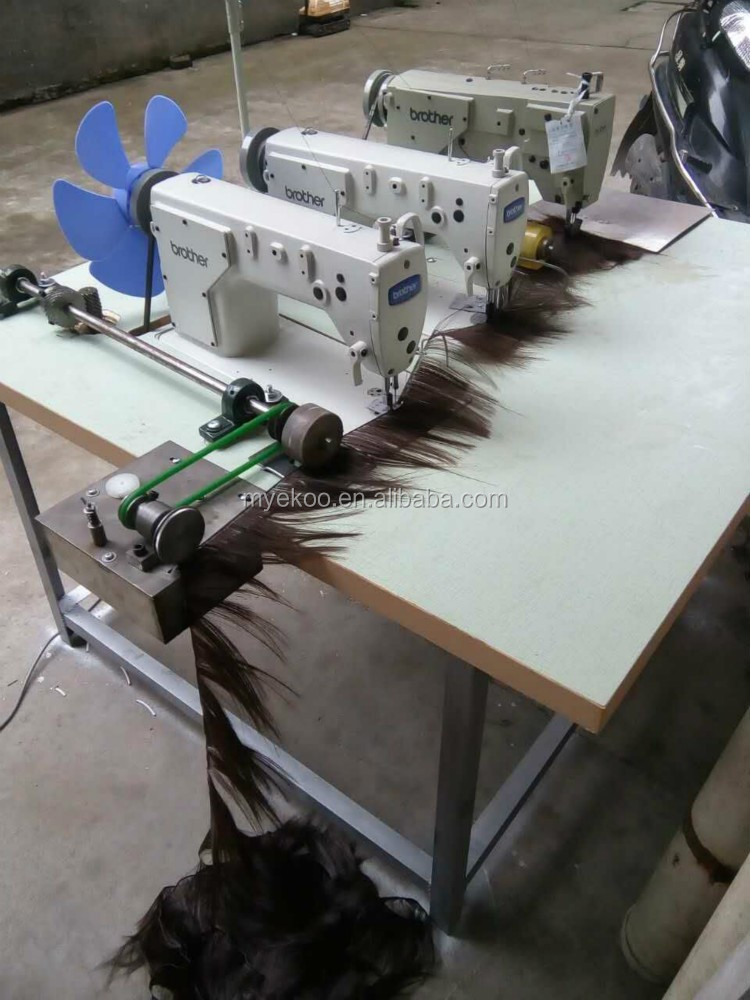 High Quality Cheap Price Brother Three Head Hair Weaving Sewing Extraordinary Hair Weave Sewing Machine