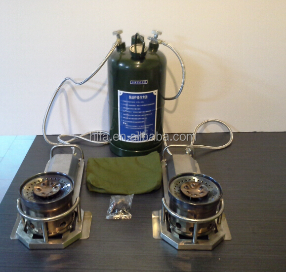 MFK XCC2002-150 250 military field Kitchen Trailer Burner system oil camping Stove