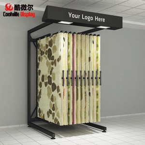 Carpet Hanging Sliding Displays Unit Door Mat Stands Rug Racks