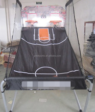 1'' Portable Basketball Frame For Game MDF Backboard and ball return Net and rim