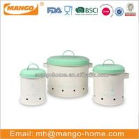 custom printed kitchen storage tins set of three metal can