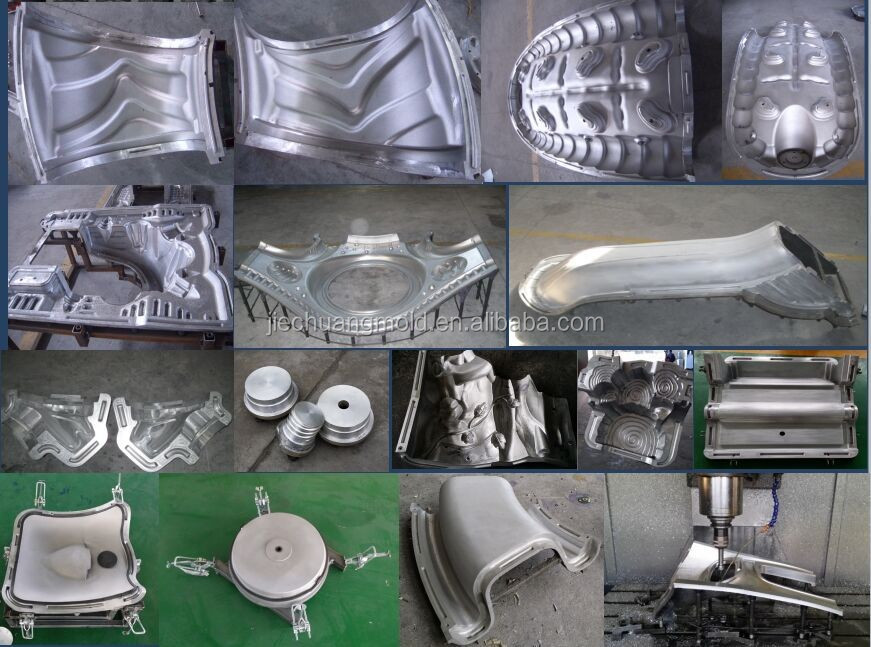 Aluminum A356 Rotomolded Mold For Plastic Climbing Stone