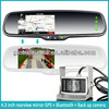 "Lincoln navigator 4.3"" rearview mirror video parking system gps navigation"