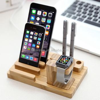 Ladestation Für Ladestation Aus Holz Für Apple Watch Iphone Und Ipad - Buy  Holz Ladestation,Holz Geladen Docking,Ladestation Für Apfel Uhr Product ...