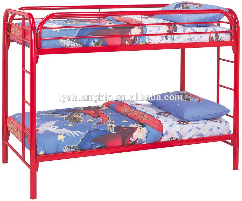 Steel double deck bed - Manufacturing Factory Modern Cheap Iron Bed Steel Cots Iron Cots Cots Steel Double Decker Bed