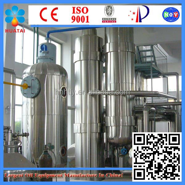 High Quality 1-200T peanut oil crude oil refinery plant