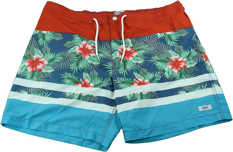 b78ddb54c9 Get Quotations · Trunks Surf & Swim Co. Men's 40 Beach Street Quick Dry Swim  Trunks Red/