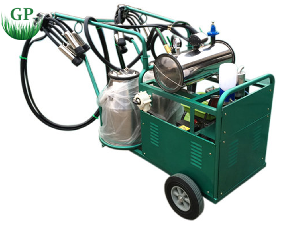 portable human milking machines for cows and goats
