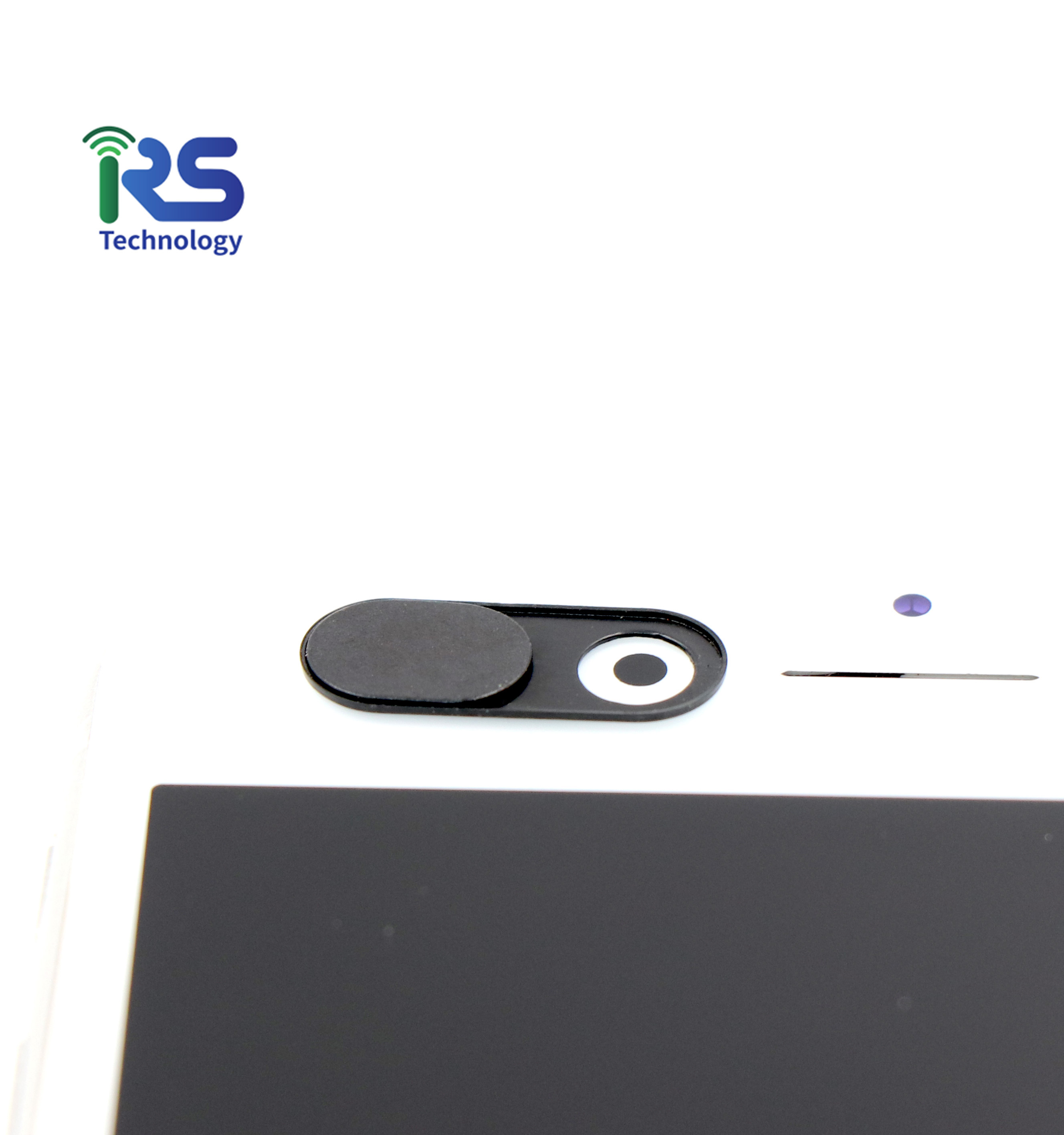Webcam cover branded voor smart telefoon teblets laptop PC