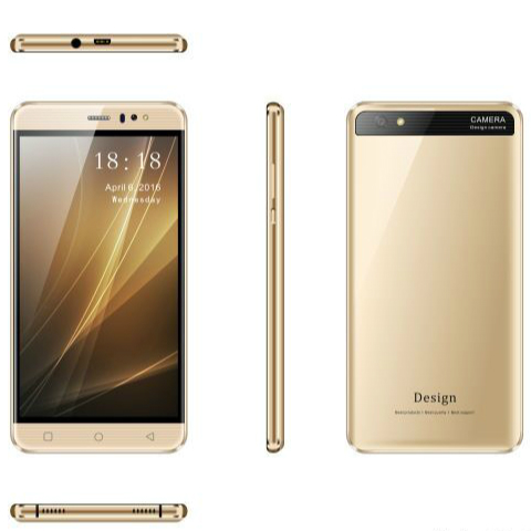 6 inch IPS 960*540 Android 5.1 1GB+8GB Smartphone 3G Lte Two Camera Calling Cell Phone Low Price China Mobile Phone