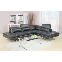 italian design luxury exclusive corner modern leather sofa bed