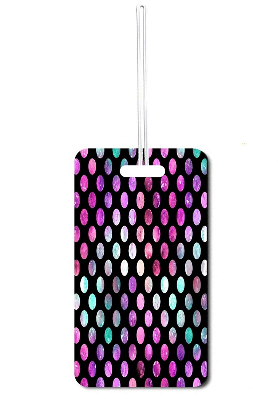 Jacks Outlet Watercolor Polka Dots Customizable Sports Bag