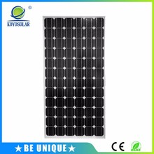 2017 battery charge 150w 18v 30v 36v monocrystalline silicon solar pv panel