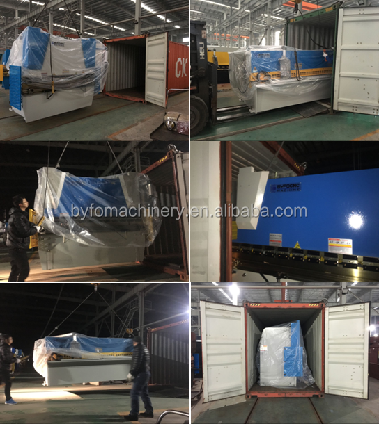 WC67K 125T 3200mm hydraulic sheet metal bending machine , hydraulic cnc press brake machine
