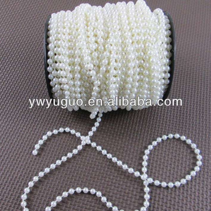 4mm Pearls beads string rolls for decorations