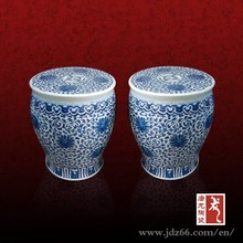 Small size designer step stools porcelain made in Jingdezhen