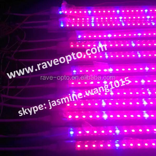 T5/t8 Led Tube 2ft/4ft Grow Lights Bar Red Blue White Pink Grow ...
