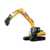 SANY hydraulic grab crawler excavator 35 ton SY335C long arm excavator for sale
