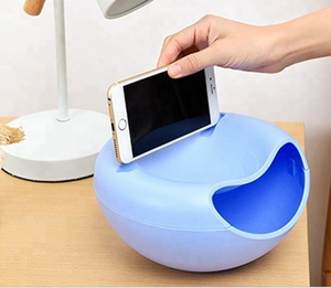 Hot selling multifunctional lazy mobile phone holder /Fruit tray