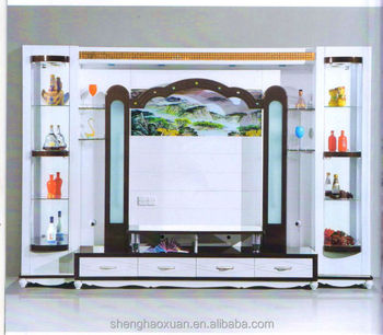 Wonderful Modern Living Room Furniture Wall Units Furniture Wall Showcase Led Tv Wall  Unit Part 27