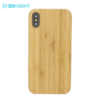 Hot Sale Bamboo Wood Mobile Phone Case For Iphone X Cove