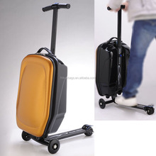 "5 Color 21 Inch Transformers Scooter Pull Rod Box Multifunction Scooter Trolley Case Suitcase 21"" Luggage Bag Luggage Scooter"