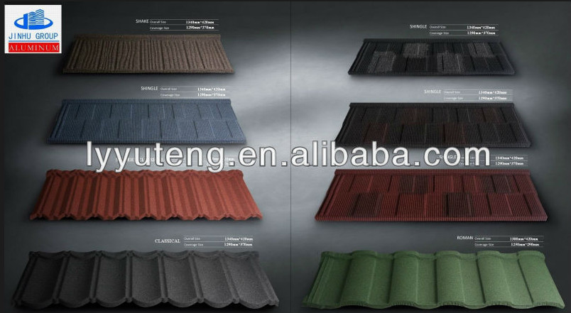1340mm 420mm Concrete Roof Tile Factory Metal Roofing