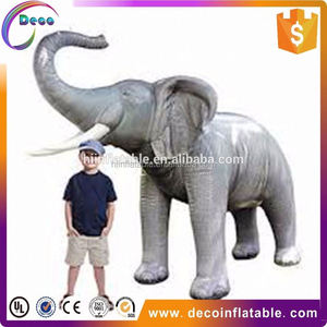 sale well simulation inflatable elephant for outdoor and decoration