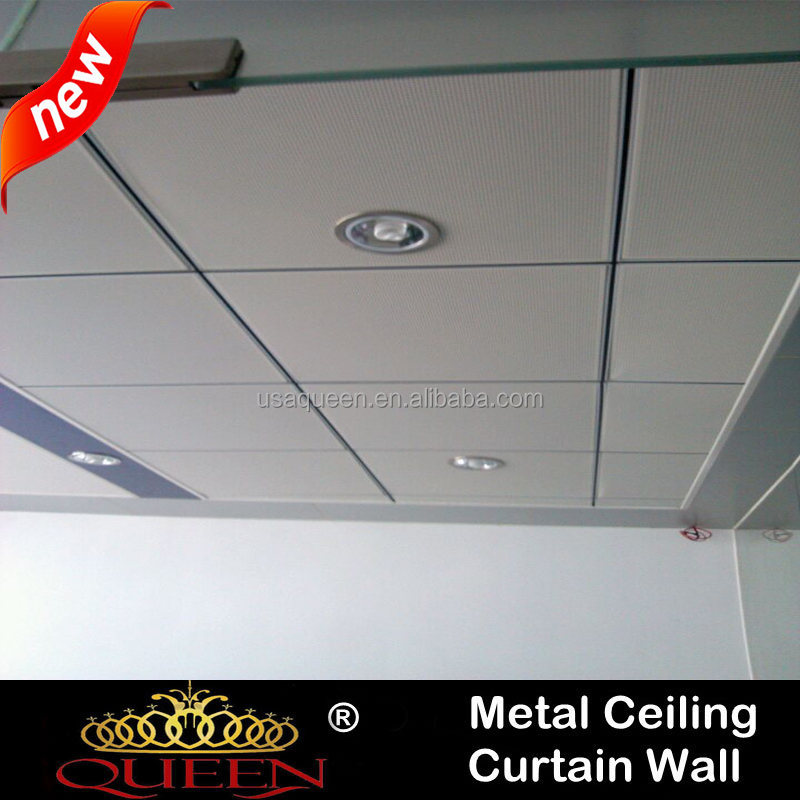 Custom Made Fireproof Ceiling Tiles Standard Size With Ce