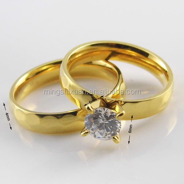New Fashion Wholesale Jewelry Dubai Gold Engagement Rings Gold