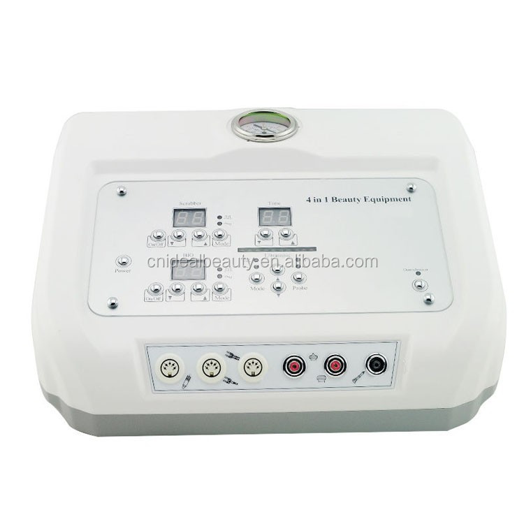 4 in 1 BIO microcurrent ultrasone huid scrubber microdermabrasie machine (M034)