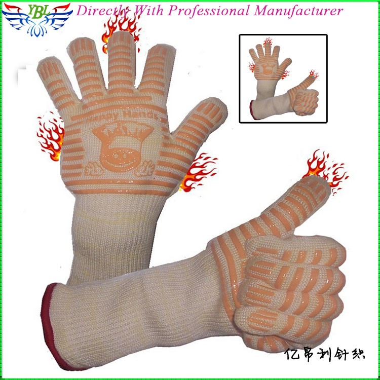 Factory Made Aramid Fiber Oven Glove,Food Grade Heat Resistant ...