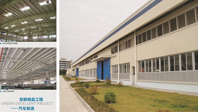 China manufacturer pre engineered structural steel fabrication