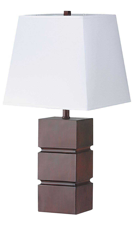 ORE International 2038 27-1/2-Inch Table Lamp, Walnut