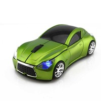 2016 Newest 2.4GHz Infiniti Shape Sports 1600 DPI Optical Wireless Car Mouse