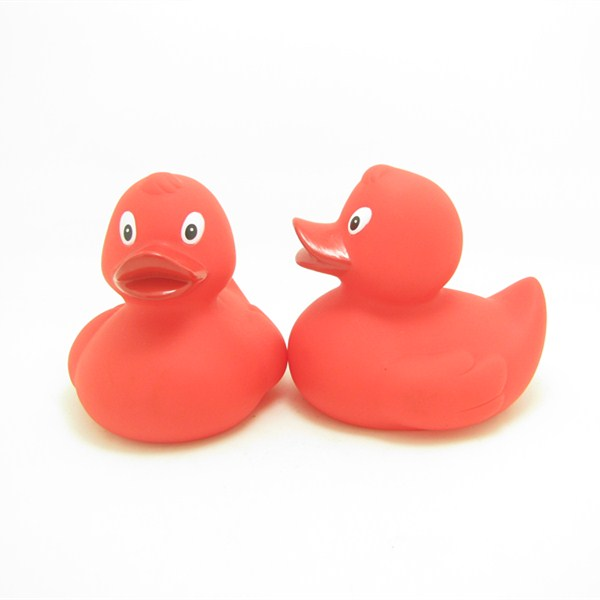 Colourful Plastic Floating Bath Toy Duck