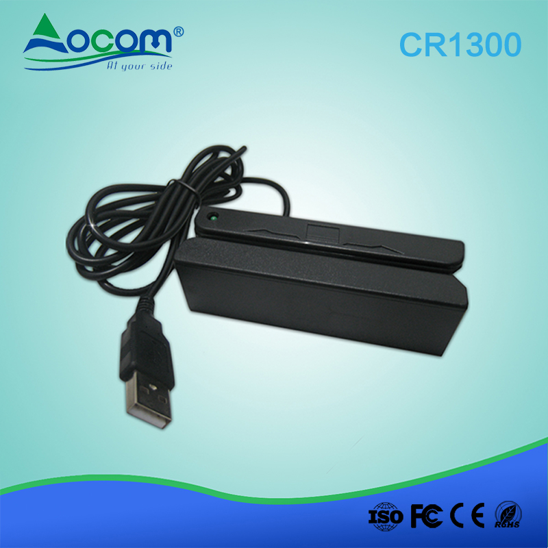 3-track Mini Magnetic Card Reader for Taxi GPS Trackers (CR1300)